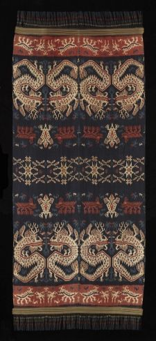 ceremonial blanket, East Sumba, Indonesia