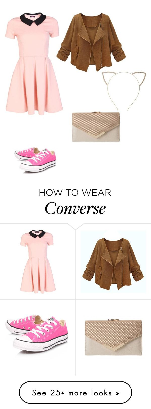 """""""What is your favorite color?!"""" by sunny1004 on Polyvore featuring Cara and Converse"""