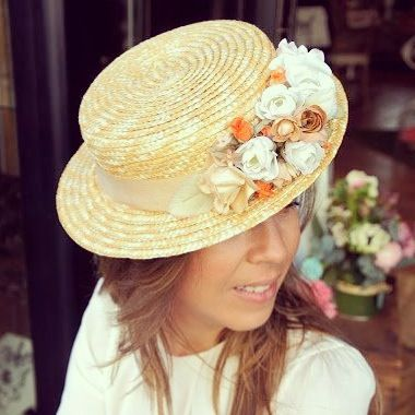 68 best canotier images on pinterest hats fascinators and women hats. Black Bedroom Furniture Sets. Home Design Ideas