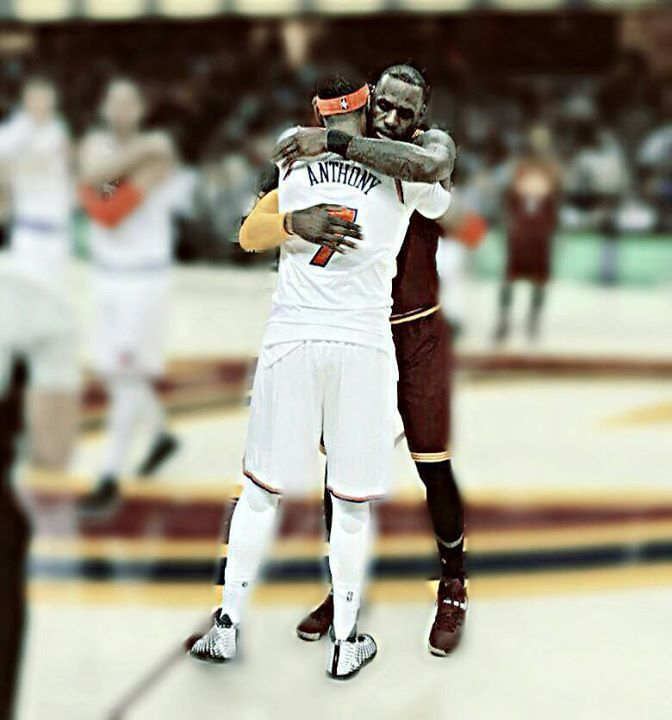 #RESPECT  #BROTHERHOOD  #KingJAMES #ME7O  The trade couldn't be done the blood in their veins isn't the same but the brotherhood that unites them is much more than being teammates or brothers in blood.        -Chucky-