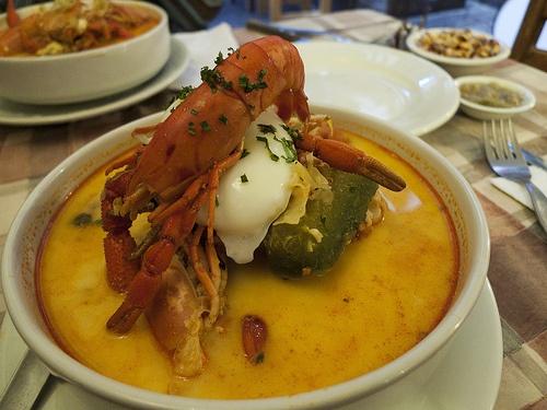 Arequipa (La Comida Peruana > Chupe de camarones.....delicioso!!!!)