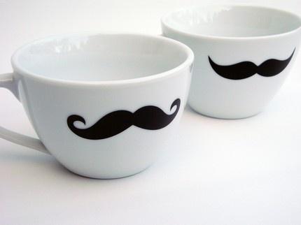 Moustache tea/coffee cup