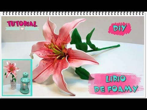 TUTORIAL LIRIO O LILIUM DE FOAMY- COLABORACION. Link download: http://www.getlinkyoutube.com/watch?v=MH1vFl0ZhDY