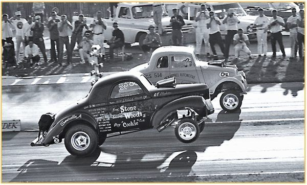 The iconic Stone, Woods and Cook Willys Gasser. The NHRA's all time most popul…