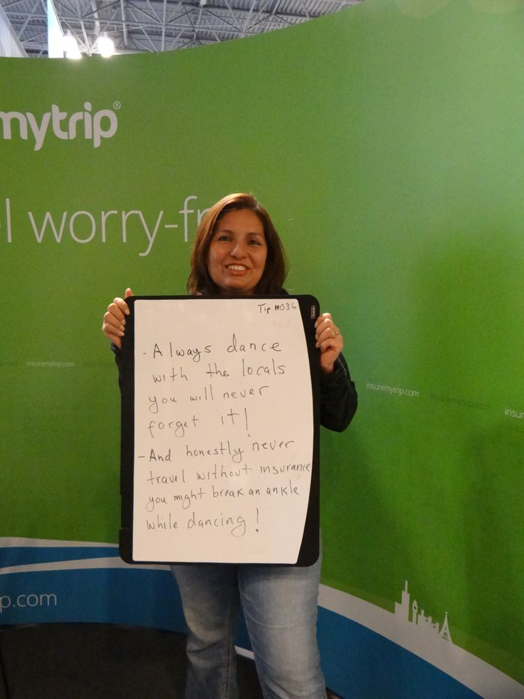 TIP #36 Always dance with the locals, you will never forget it! And honestly, never travel with out #travelinsurance. You might break an ankle while dancing! #nytts #insuremytrip #Smartesttravelersalive