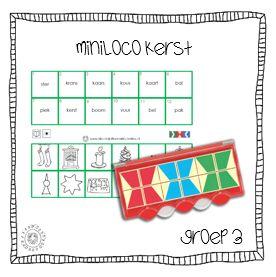 MiniLoco | Thema KERST (groep 3)