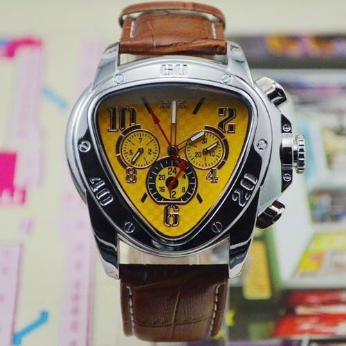 JARAGAR Triangle Shape Auto Mechanical Watch Men's Wristwatch  #jaragar #LuxurySportStyles