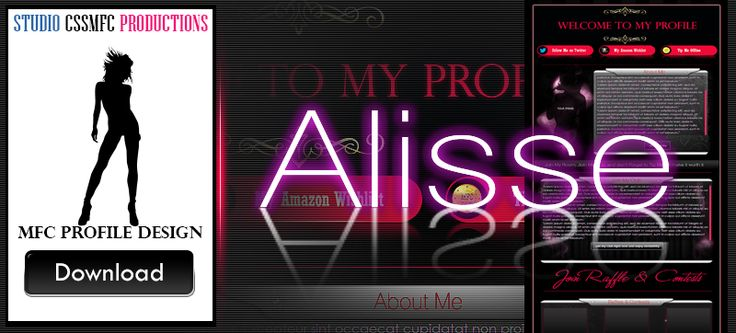 premium MFC profile design Alisse