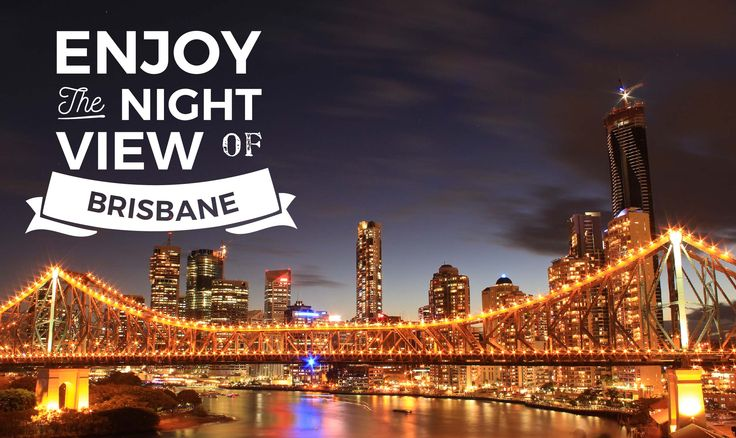 Enjoy the night view of Brisbane like no other. Find out where to have a comfortable stay with an amazing view like this!