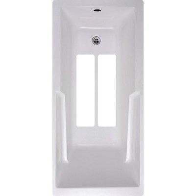 No Slip Mat by Versatraction Bath Tub and Shower Treads Color: White