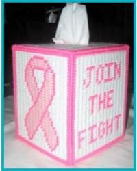 Breast Cancer Awareness Tissue Box Cover