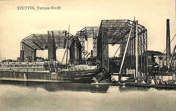 Vulkan shipyards, Stettin Germany (now Scezin Poland)