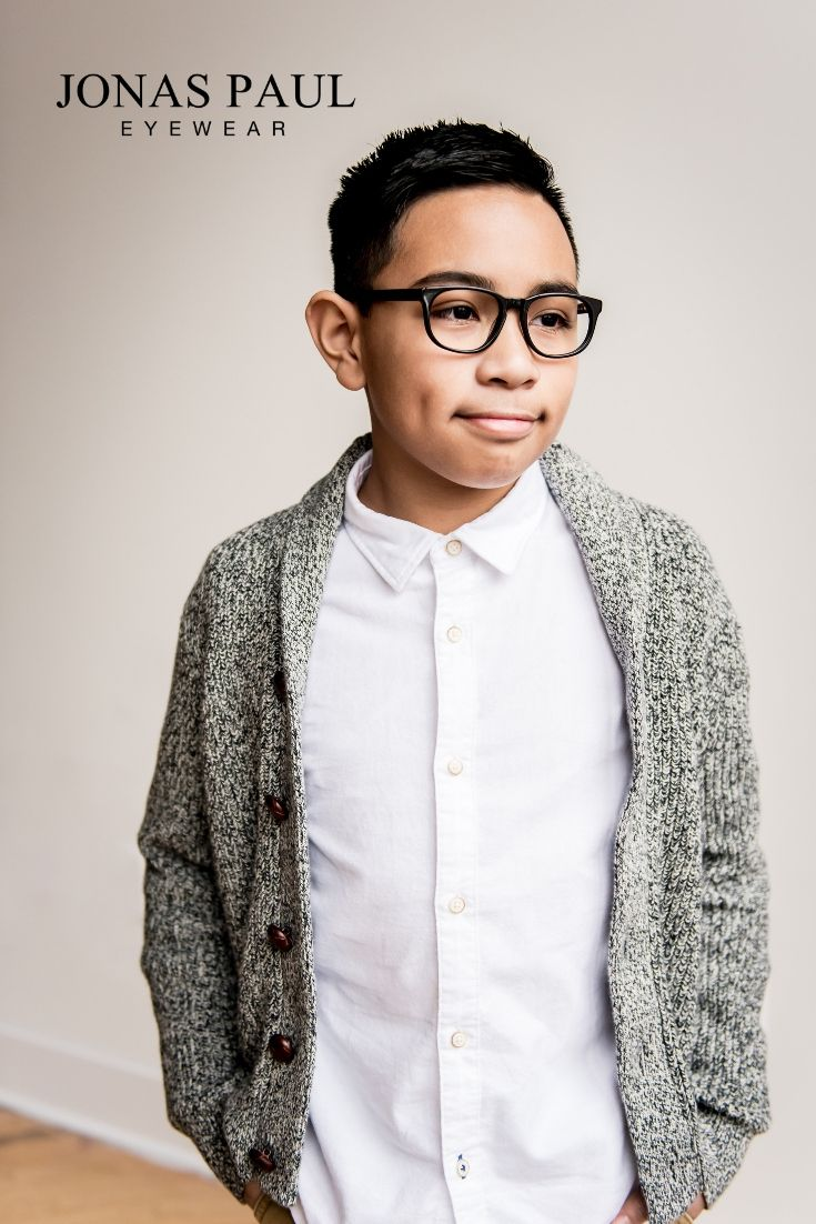 d4a0192a77e7 Cool glasses for kids. Who knew they existed? Jonas Paul Eyewear creates fashionable  eyeglasses for kids who need prescription glasses.