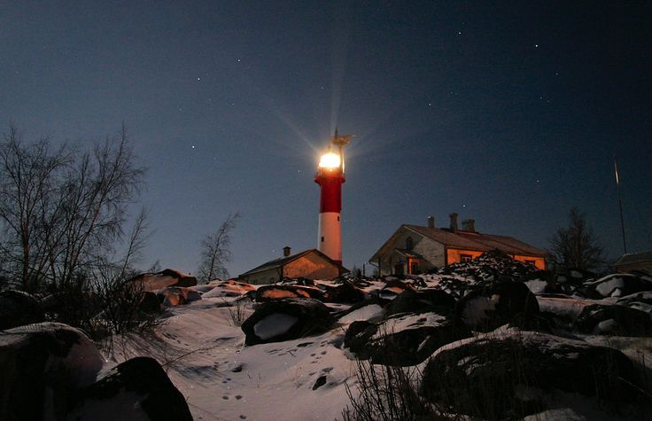 Tankar Lighthouse, Kokkola, Finland