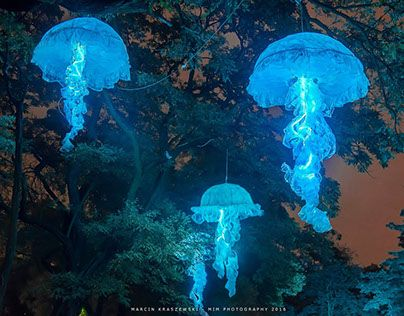 "Check out new work on my @Behance portfolio: ""Jellyfish - light installation Light Move Festival 2016"" http://be.net/gallery/54385561/Jellyfish-light-installation-Light-Move-Festival-2016"