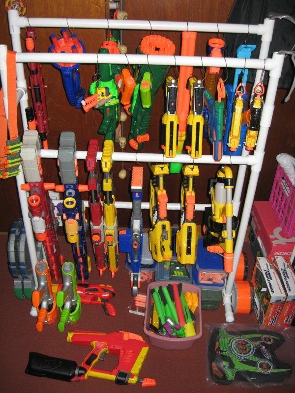 Best 25+ Nerf gun storage ideas on Pinterest | Nerf storage, Toy ...