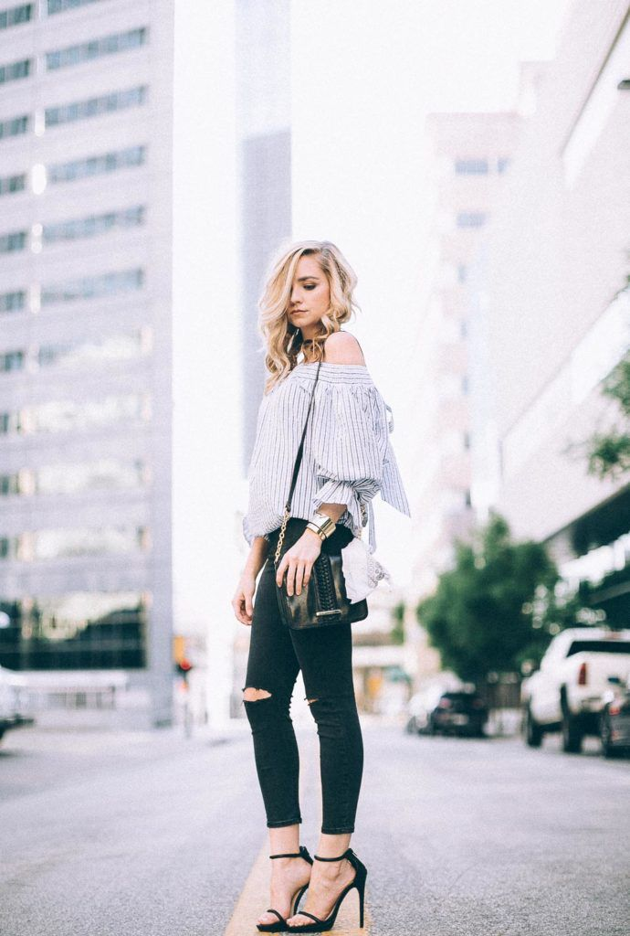 Bow Back Blouse | Dallastyle Blog | Dallastyleblog.com