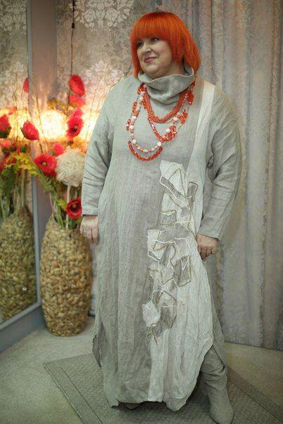 Ваш лён.Эксклюзивная одежда от Натальи Гайдаржи.