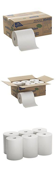 """89460 Enmotion. Georgia-Pacific enMotion 894-60 800' Length x 10"""" Width, White High Capacity Touchless Roll Towel (Roll of 6).  #89460 #enmotion #89460enmotion"""