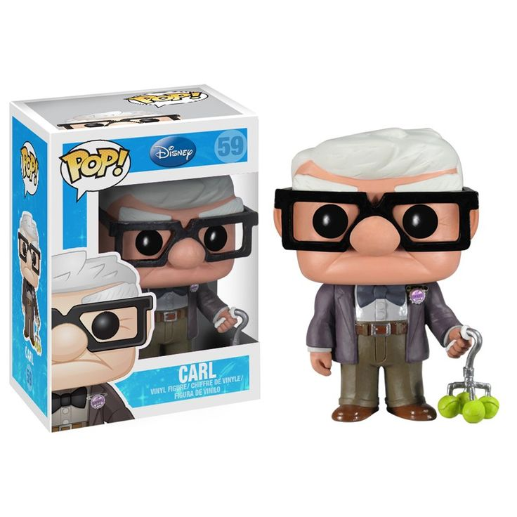 New Funko Pop! Disney/Pixar Toys: Carl from Up!