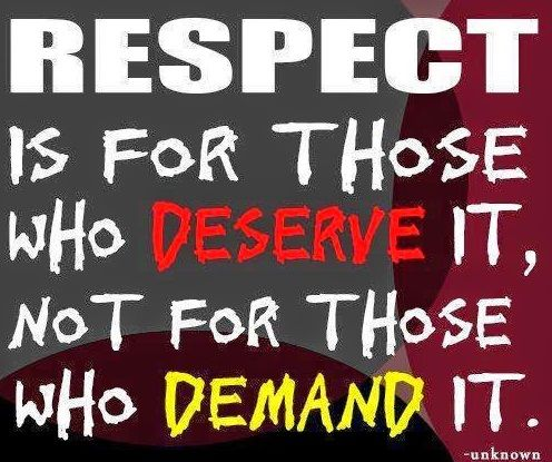Respect Quotes   Google Search