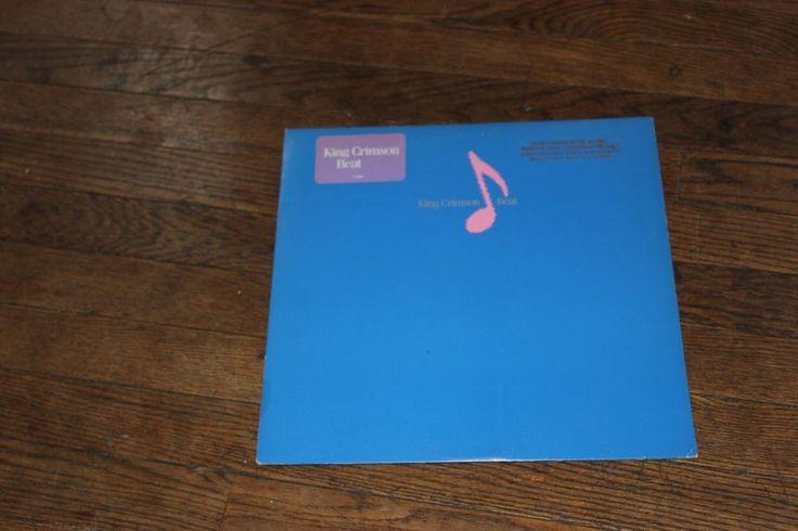 King Crimson – Beat LP VINYL with EG + Warner label  Robert Fripp Adrian Belew