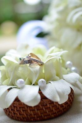 コンラッドバリ 生花のリングピロー | 海外ウェディング会場[バリ]のブログ | リゾートウェディング「リゾ婚」なら【ワタベウェディング】