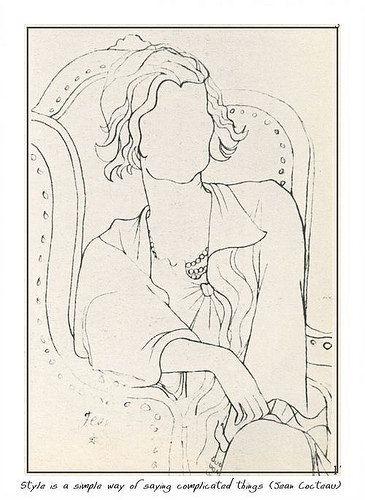 Jean Cocteau, Chanel, 1932