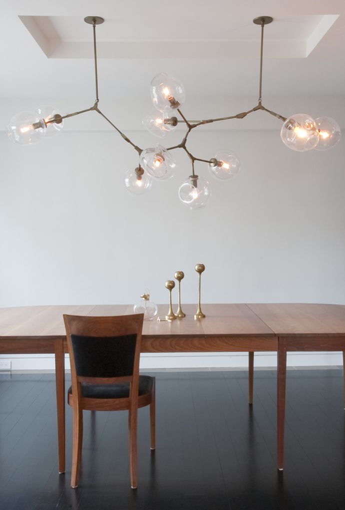 Lindsey Adelman bubble chandelier