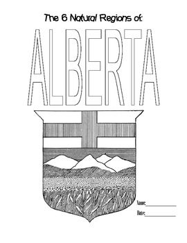 Alberta really is the most beautiful province! I love how this booklet turned out when students used it as a good copy for their research with bold self-drawn illustrations on each page. Package includes one page for each region of Alberta, and a title page that kids can colour.