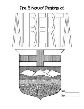 6 Natural Regions of Alberta