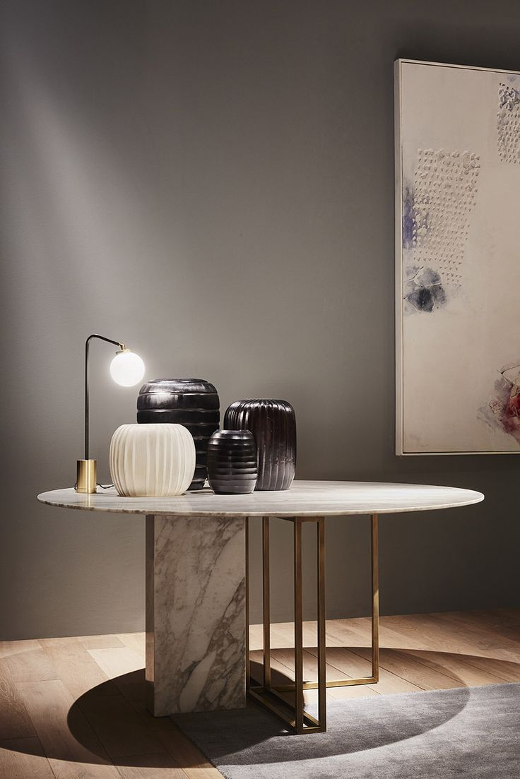 MERIDIANI Editions I PLINTO dining table