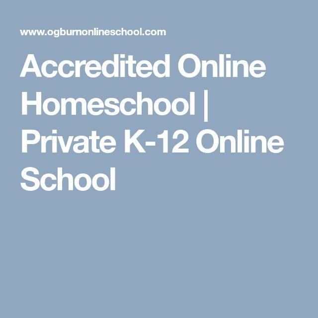 Accredited Online Homeschool | Private K-12 Online School