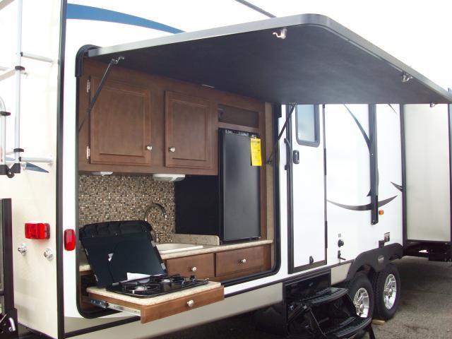 5th Wheel Bunkhouse Outdoor Kitchen Menards Sinks Sport Trek 320vik Travel Trailer With Outside ...