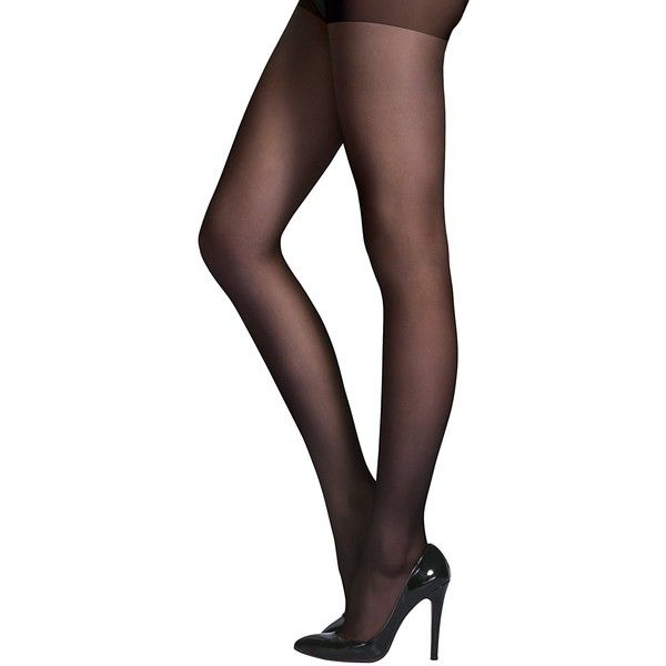 Honenna Women's Reinforced Toe Semi Sheer Opaque Tights Panty Hose at... ($9.99) ❤ liked on Polyvore featuring intimates, hosiery, tights, pantyhose tights, opaque stockings, sheer hosiery, transparent tights and opaque hosiery