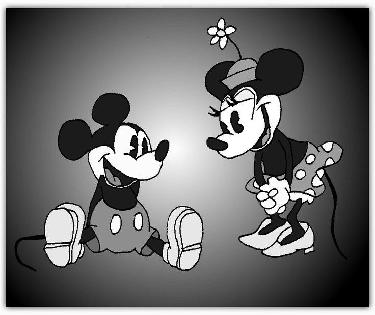 vintage mickey and minnie♥