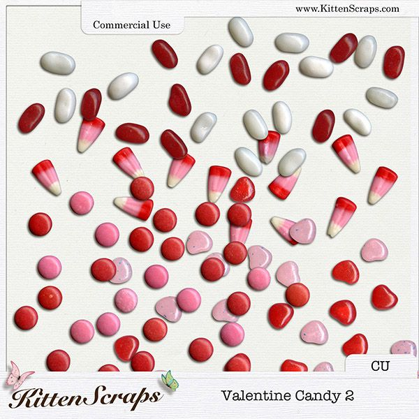 Valentine Candy 2 {CU} CU Product by KittenScraps, Digital Scrapbooking,