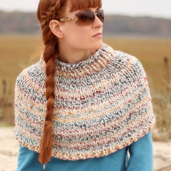 79 Best Knitting Shawls Ponchos Capes And Shrugs Images On