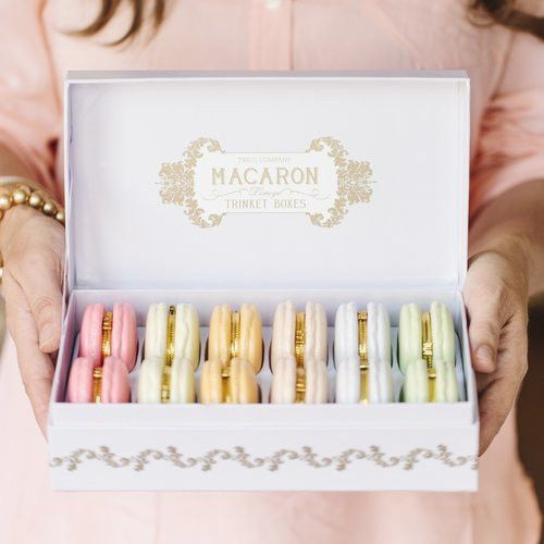 Macaron Trinket Boxes//Hattan Home, I have two of these I want to get all the colors!