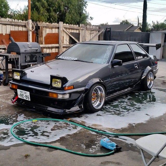 "radracerblog: "" Toyota Trueno Coupe Ae86 """