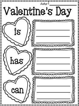 valentines day writing activities third grade