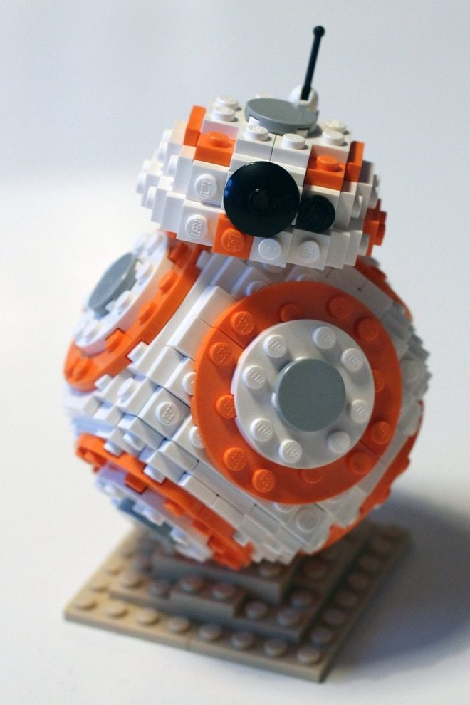 You can turn this little droid into an official LEGO set.