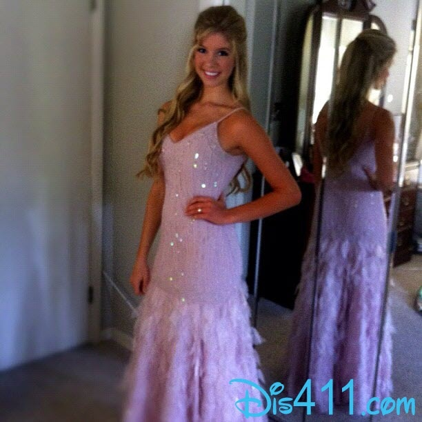 Allie DeBerry Prom Beautiful March 31, 2012