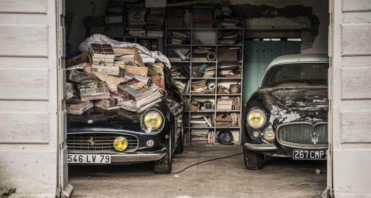 Exclusive: Treasure trove of 60 barn-finds includes 'lost' Ferrari 250 GT SWB California Spider | Classic Driver Magazine