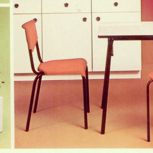 chaise c 74 dition meurop 1974 meurop vintage. Black Bedroom Furniture Sets. Home Design Ideas