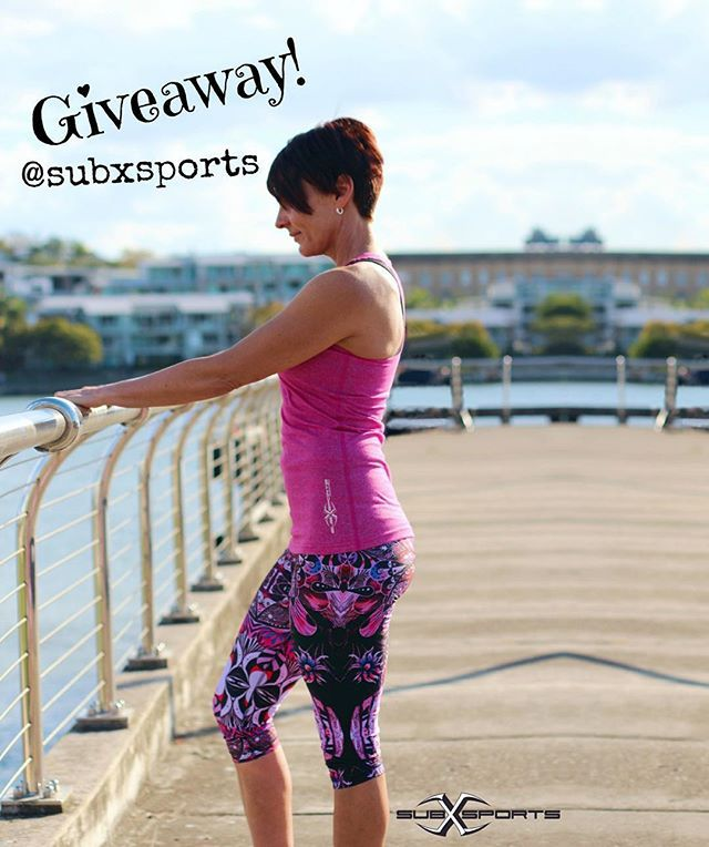 Follow Us on Instagram to find out how to WIN a pair of our beautiful 'Mandala' 3/4 Tights valued at $65! Made locally in Australia. https://instagram.com/subxsports/