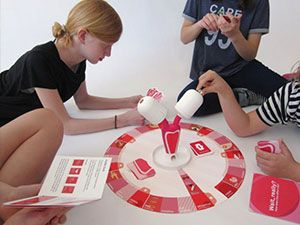 Çocuklar için regl oyunu üretildi