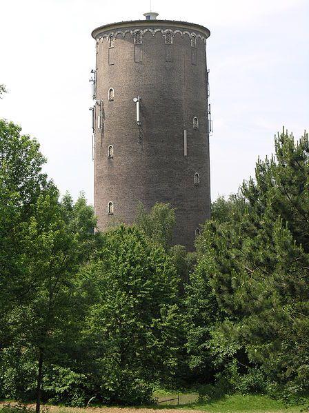 Watertoren Oranje Nassaumijnen, Heerlen, Zuid-Limburg., The Netherlands