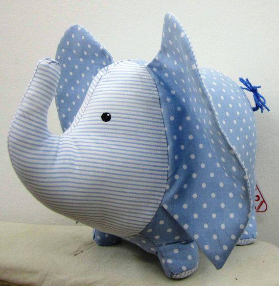 Elephant - Blue and White $16