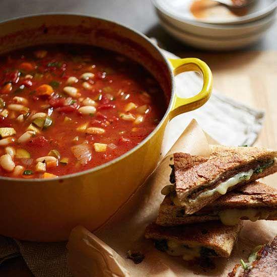 Minestrone Soup Recipe.